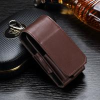 Anti Scratch Leather Ecig Case Holder For IQOS Electronic Cigarette Pouch Bag Manufactures