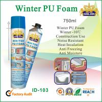 Weather Resistant Winter PU Foam Sealant For Heat Insulating / Adhering Manufactures