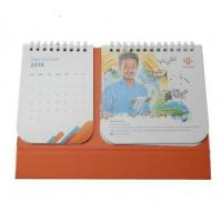Promotional Custom Desk Calendar , Art Paper Self Standing Calendar Manufactures