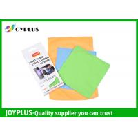 Smart Phone Touch Screen Cleaning Cloth , Microfiber Lens Cleaning Cloth Manufactures