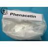 Buy cheap High Purity 99% Pharmaceutical Raw Powder Phenacetin Antipyretic Analgesic from wholesalers