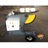 Rotary Table Welding Positioner 0-120dgr tilt 1300mm Dia Precision Gearbox Manufactures