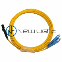 China MTRJ To SC Female MTRJ 2 Meters Duplex Patch Cord on sale