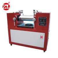 Water / Air cooling Lab Two Roll Mill , Rubber Testing Machine Polymer Mixing Available Manufactures