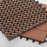 Buy cheap Hot Sale Waterproof composite hollow dark grey outdoor wpc decking Joist from wholesalers