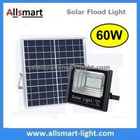 Buy cheap 60W Solar Flood Lights Outdoor Remote Control Battery LED Light With Solar Panel for Garden Patio Street Parking Lot from wholesalers