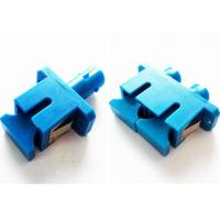 SC - LC Female SX / DX Fiber Optic Cable Adapter Single Mode ABS Metal Material Manufactures
