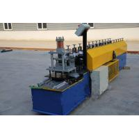 Industrial Steel Roller Shutter Forming Machine For 0.3 - 0.8mm Thickness Sheet Manufactures