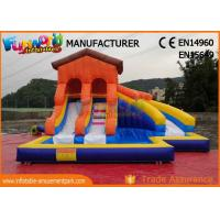Buy cheap Giant Inflatable Water Slide Clearance For Adult Customized Color from wholesalers