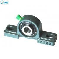 Quality 30*38.1*167 mm Agricultural Machinery fan, textile, food, mining and other machinery bearing Pillow Block Bearing UCP206 for sale