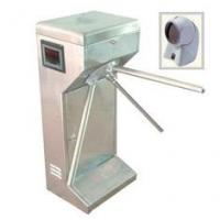 Access control vertical Tripod Turnstile gate with scanner for subway, community Manufactures