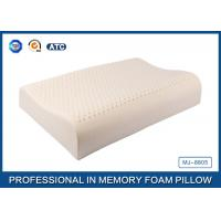 Wave Shape Health Care Open-Cell Natural Latex Foam Pillow With Soft Cover Manufactures