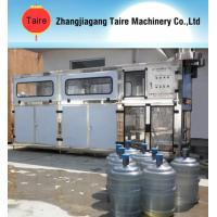 Automatic 5 Gallon Container Mineral Water Filling Machine / Filler Manufactures