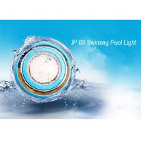 China IP68 Wall Mounted RGB LED Swimming Pool Light / Outdoor LED Pond  Lamp on sale