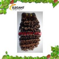 Beautiful Soft Remy Indian Human Hair Kinky Afro Curl Hair Extension Manufactures