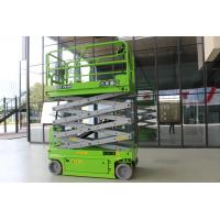 Green Electric Man Lift 10m Aerial Work Platform With CE Certificate Manufactures
