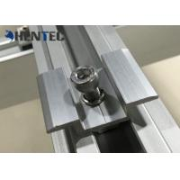 Anodized PV MID Clamp Solar Roof Mounting Systems For Roof Mounting Systems Manufactures