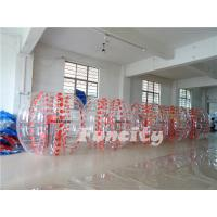 Customized TPU Inflatable Bumper Ball , Large Kids Bubble Football Manufactures