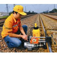 China Cheap railway steel rail drilling machine for all standard of stee rails price in stock for sale on sale