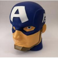 "3D Marvel Captain America ""illumi-mate"" Colour Changing Light, Blue, 11 x 9 x 12cm Manufactures"