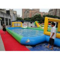 Portable 0.9 Mm PVC Tarpaulin Inflatable Family Pool For Adult Middle Size Manufactures