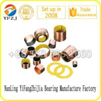 Many sizes oilless bush supply wrapped bronze bearing, plastic POM bushing Manufactures