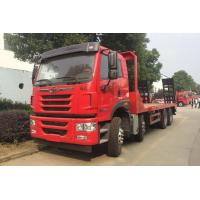 Buy cheap 8x4 Flatbed Special Purpose Truck With Fast Transmission And Weichai WP10.310E53 from wholesalers