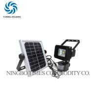 10W Solar Motion Sensor Flood Light , Super Bright LED Outdoor Solar Security Lights Manufactures