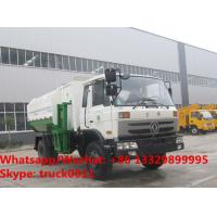 Factory sale cheaper price Dongfeng 4*2 LHD side loader garbage truck, HOT SALE! good price wastes collecting vehicle Manufactures