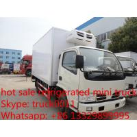 hot sale best price CLW brand 3-5ton mini refrigerated truck for sale, China brand 3tons-5tons cold room truck for sale Manufactures