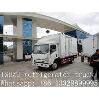 CLW brand refrigerated truck for fresh vegetables and fruits for sale, high quality cold room truck for frozen food Manufactures