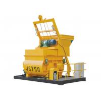 Horizontal Twin Spiral Shaft 750 Liter With Bucket Hopper High Efficiency Manufactures