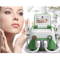 Portable ipl and shr machine for hair removal and skin rejuvenation with 2 treatment heads Manufactures
