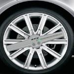 6V RGB Modern design led wheel light spots car led light Manufactures