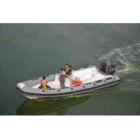 French Orca Hypalon Large RIB Boat 8.3m Length Dark With Twin 225HP Motor Manufactures