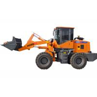 Portable Tractor Front Wheel Loader 1600kg Rated Load Color Customized Manufactures