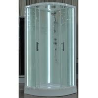 Free Standing Quadrant Shower Cubicles With Transparent Tempered Glass Fixed Panel