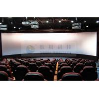 High technology 3d movie theater / stereo cinema with Flat / Arc / Circular Screen Manufactures