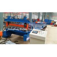 Galvanized Metal Steel Roofing Sheet Roll Forming Machine Automatically Gl Coated Manufactures