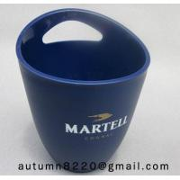 Clear dark blue plastic ice bucket Manufactures