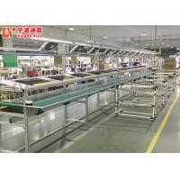Quality Parallel Conveyor Belt Line Assembly Line Roller Conveyors For Workshop Material Transfer for sale