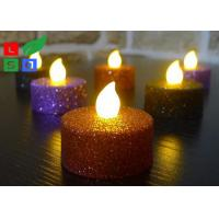 Quality Remote Controlled Flameless LED Candle Lights , Pillar Flickering LED Commercial for sale