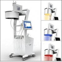 Sanhe laser hair regrowth with hair and skin analyzer / laser and LED lights Manufactures