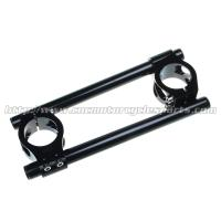 Quality Kawasaki Cbr 600 Clip On Motorcycle Bars CNC Anodized Surface Treatment for sale