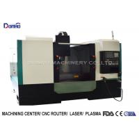 Full Cover Shroud CNC Vertical Machining Center For Iron Ore Engraving Manufactures