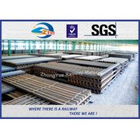 Quality High Tensile Steel Sheet Pile U Shape Z Shape GB JIS UIC Standard for sale