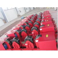 Auto Adjustable Steel Pipe Welding Rollers / Self-Aligning Welding Rotator Manufactures