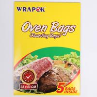 Eco-friendly Heat Resistant Clear Plastic Oven Turkey Bread Cooking Bags Manufactures