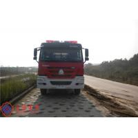 Quality 6x4 Drive Type Fire Fighting Truck Red Painting With 100W Alarm Control System for sale