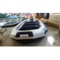 Quality OEM Eight Person 0.9mm PVC Fabric Inflatable Raft Party Boat With 500cm Length for sale